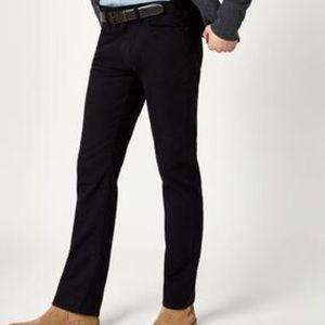 Mavi Black Zach Straight Leg Jeans